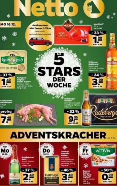 5 Stars der woche . Netto (2019-12-21-2019-12-21)