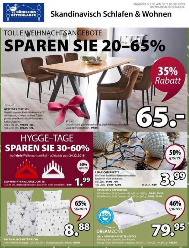 Angebote . Dänisches Bettenlager (2019-12-08-2019-12-08)