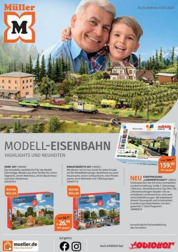 Modell-eisenbahn . Müller (2020-01-31-2020-01-31)
