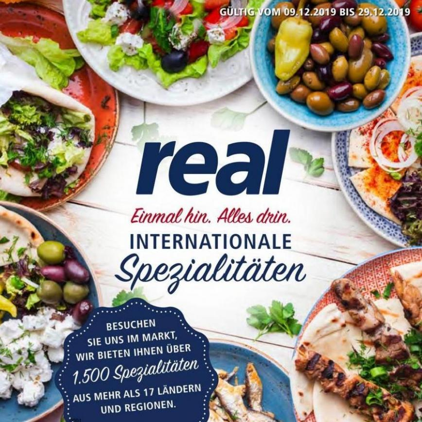 International Spezialitäten . real (2019-12-29-2019-12-29)