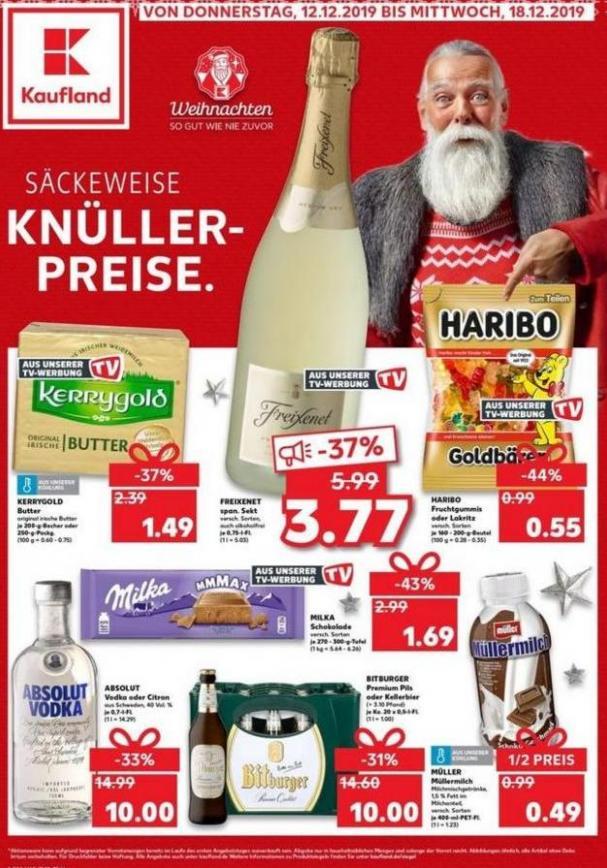 Angebote Kaufland . Kaufland (2019-12-18-2019-12-18)