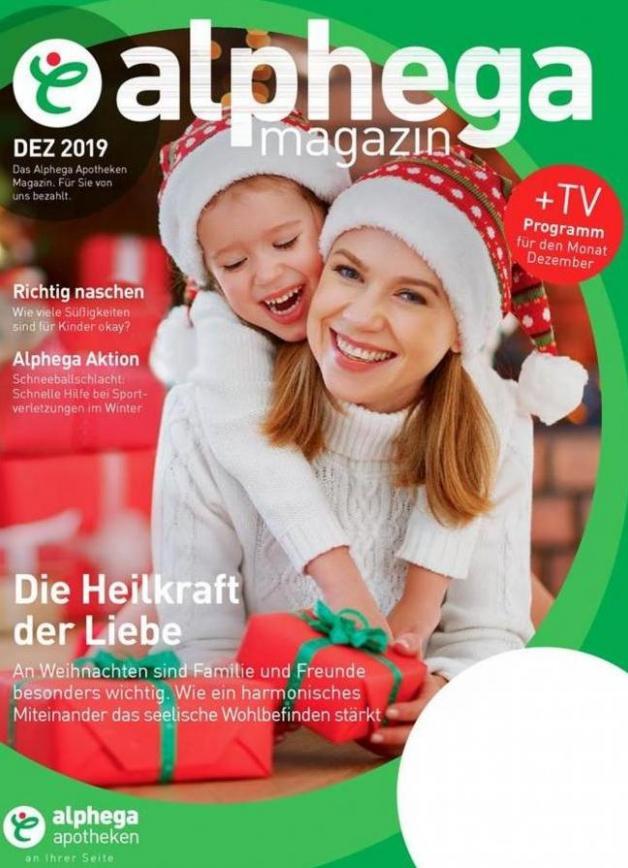 Alphega Magazin . Alphega Apotheken (2019-12-31-2019-12-31)