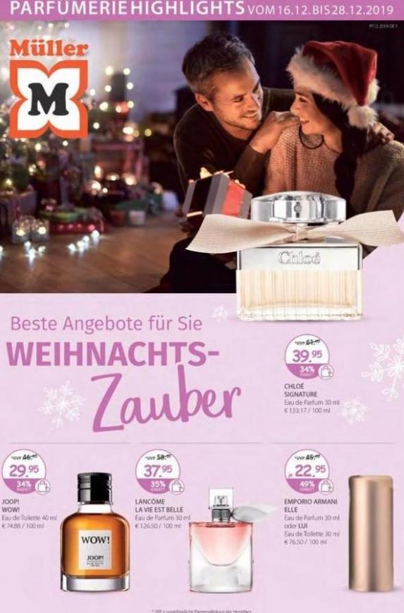 Parfümerie Angebote . Müller (2019-12-28-2019-12-28)
