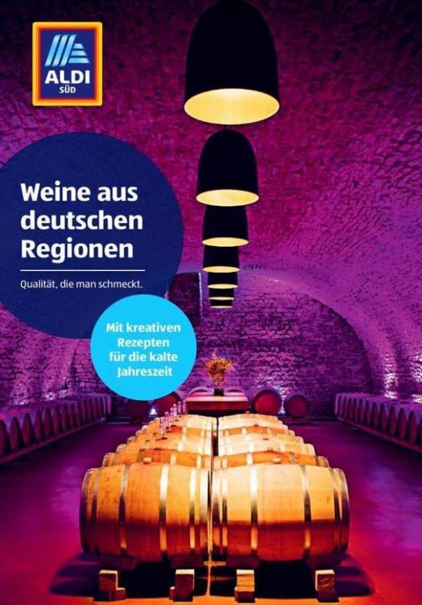 Weine aus deutschen Regionen . Aldi Süd (2019-12-31-2019-12-31)