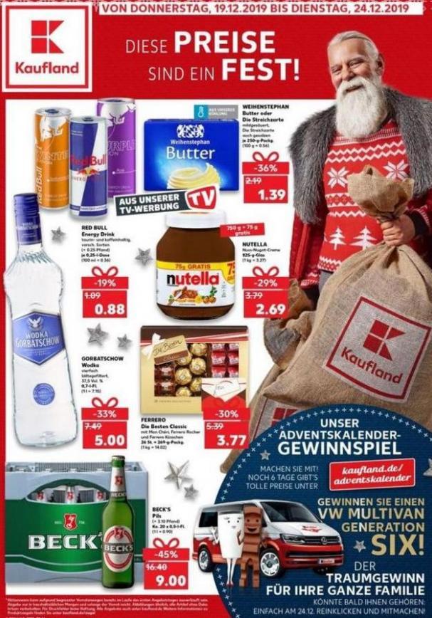 Angebote Kaufland . Kaufland (2019-12-25-2019-12-25)