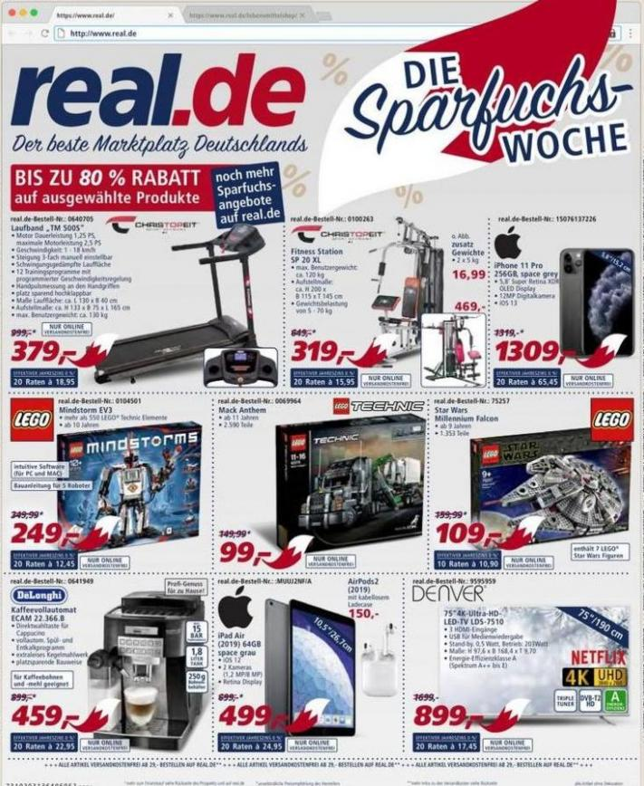 Die Sparfuchs-Woche . real (2019-12-14-2019-12-14)
