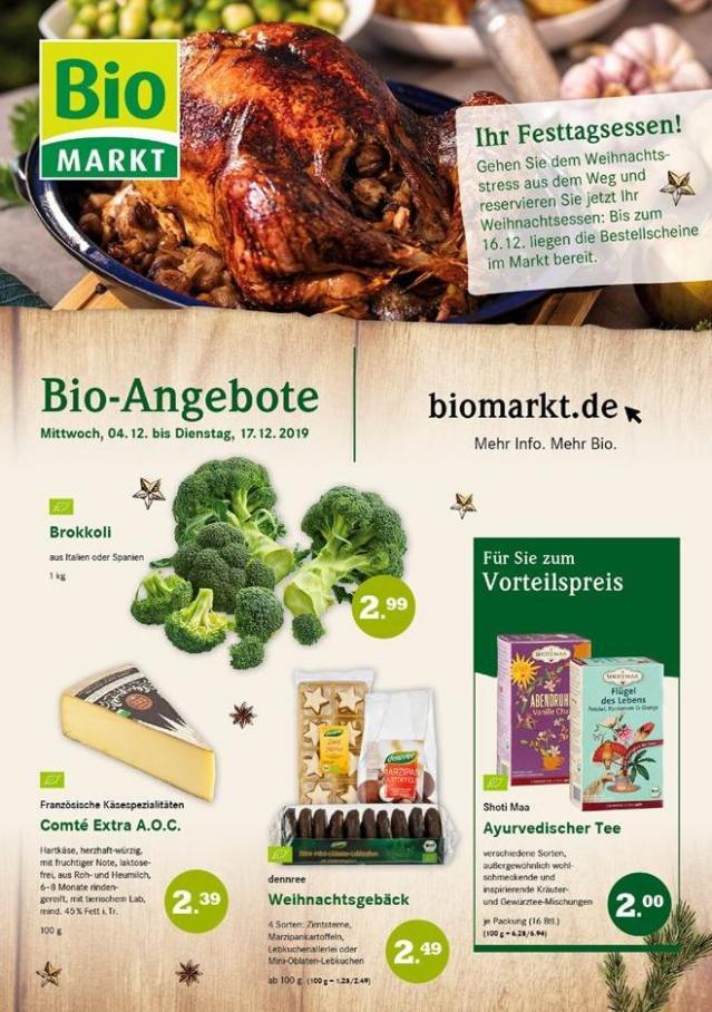 Bio-Angebote . BioMarkt (2019-12-17-2019-12-17)