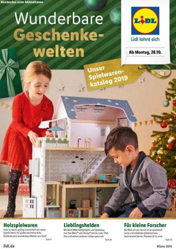 Wunderbare Geschenkewelten . Lidl (2019-12-15-2019-12-15)