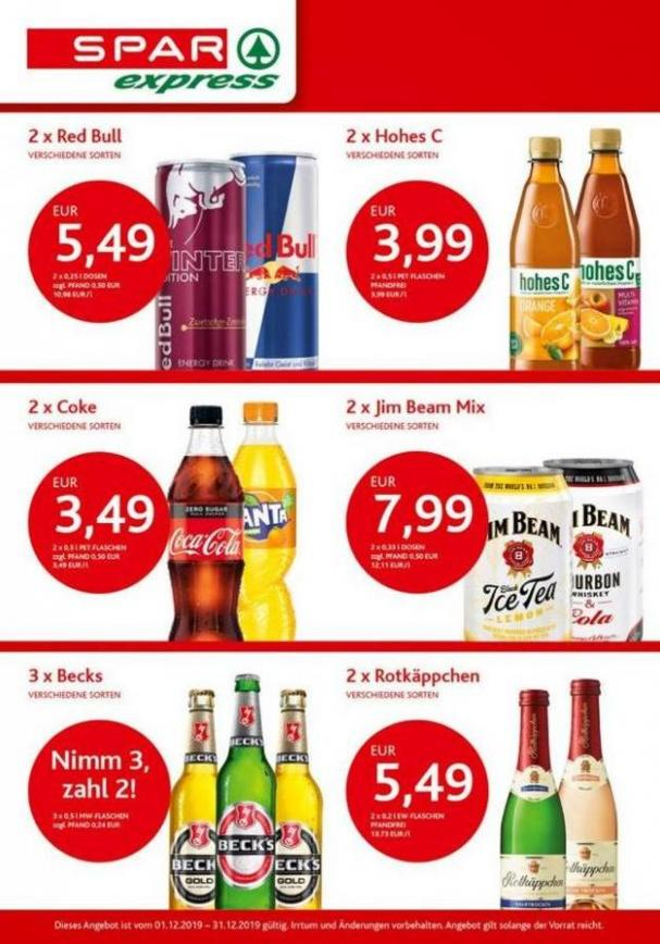 Angebote des Monats . Spar express (2019-12-31-2019-12-31)
