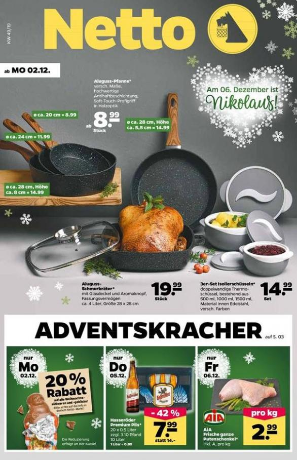 Adventskracher . Netto (2019-12-07-2019-12-07)