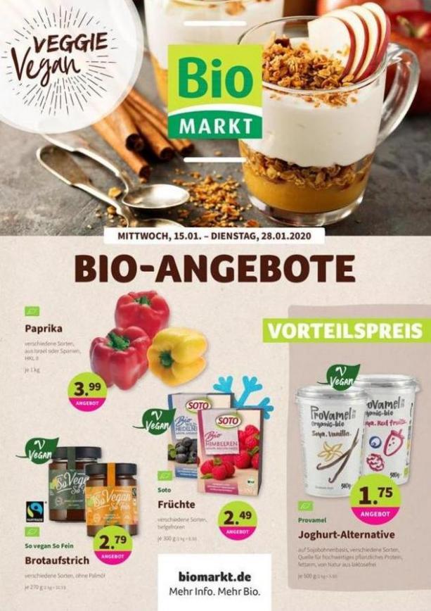 Bio-Angebote . BioMarkt (2020-01-28-2020-01-28)