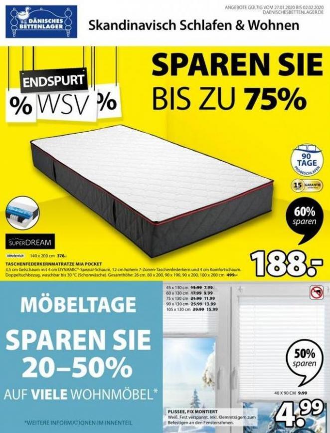 WSV % . Dänisches Bettenlager (2020-02-02-2020-02-02)