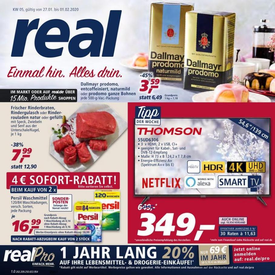 Prospekt Woche 5 . real (2020-02-01-2020-02-01)