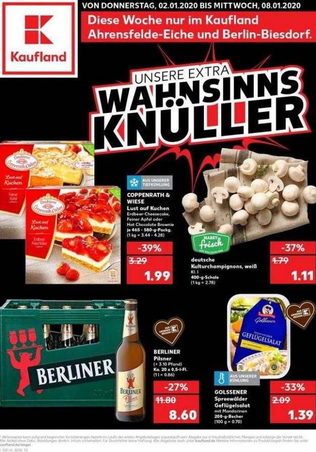 Angebote Kaufland . Kaufland (2020-01-08-2020-01-08)