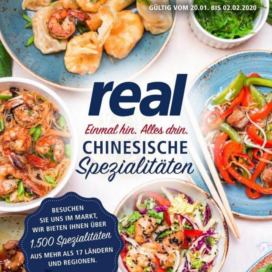 Chinesische Spezialitäten . real (2020-01-25-2020-01-25)