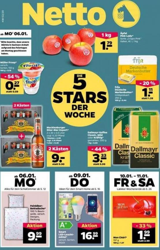 5 Stars der woche . Netto (2020-01-11-2020-01-11)