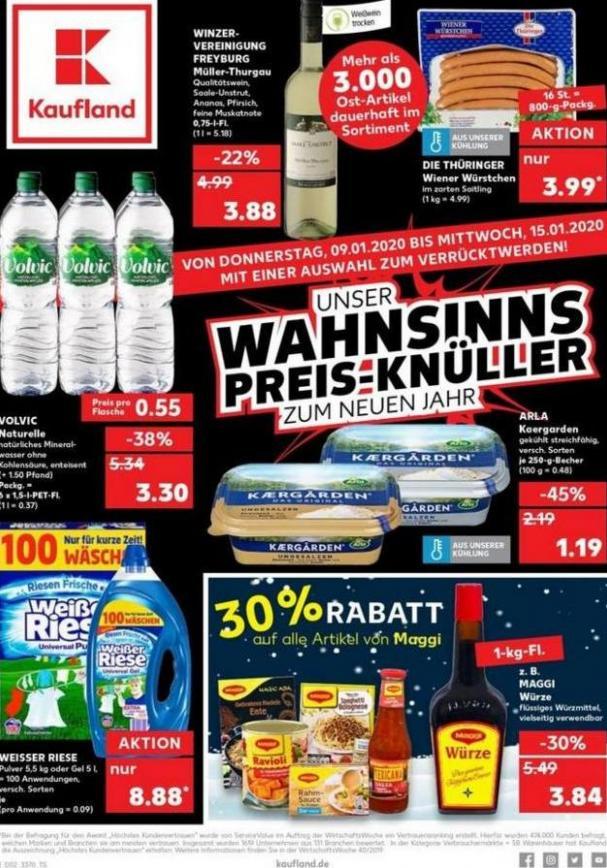 Angebote Kaufland . Kaufland (2020-01-15-2020-01-15)