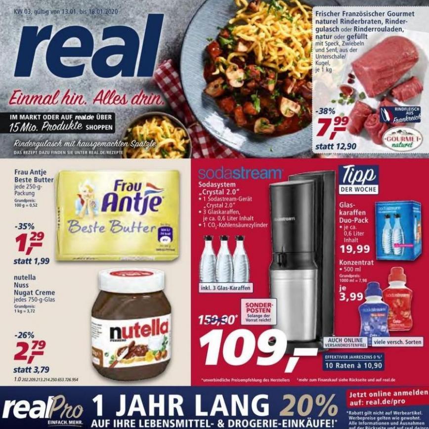 Prospekt Woche 3 . real (2020-01-18-2020-01-18)