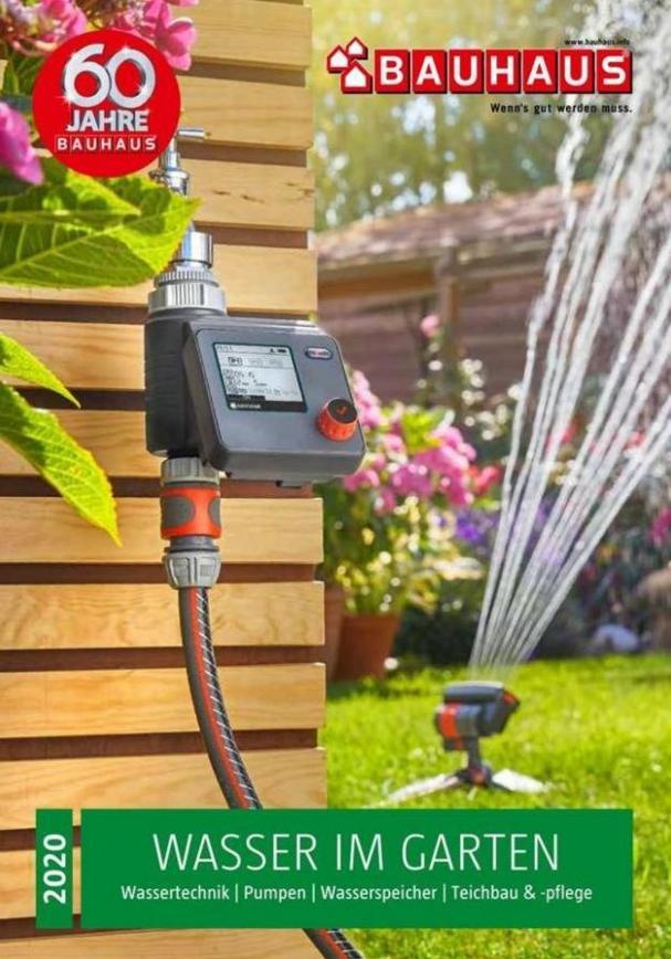 Wasser im Garten 2020 . Bauhaus (2020-06-30-2020-06-30)