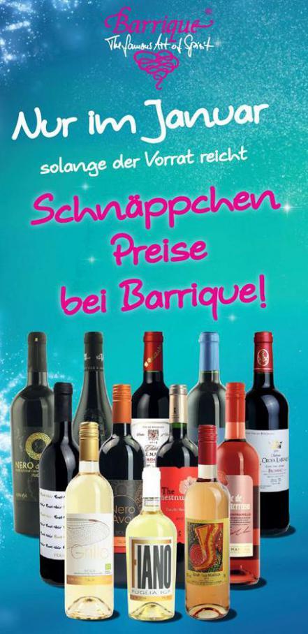 Angebote . Barrique Landshut (2020-03-31-2020-03-31)