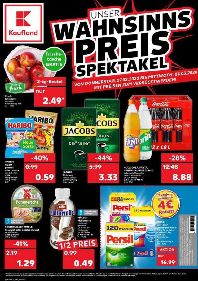 Angebote Kaufland . Kaufland (2020-03-04-2020-03-04)