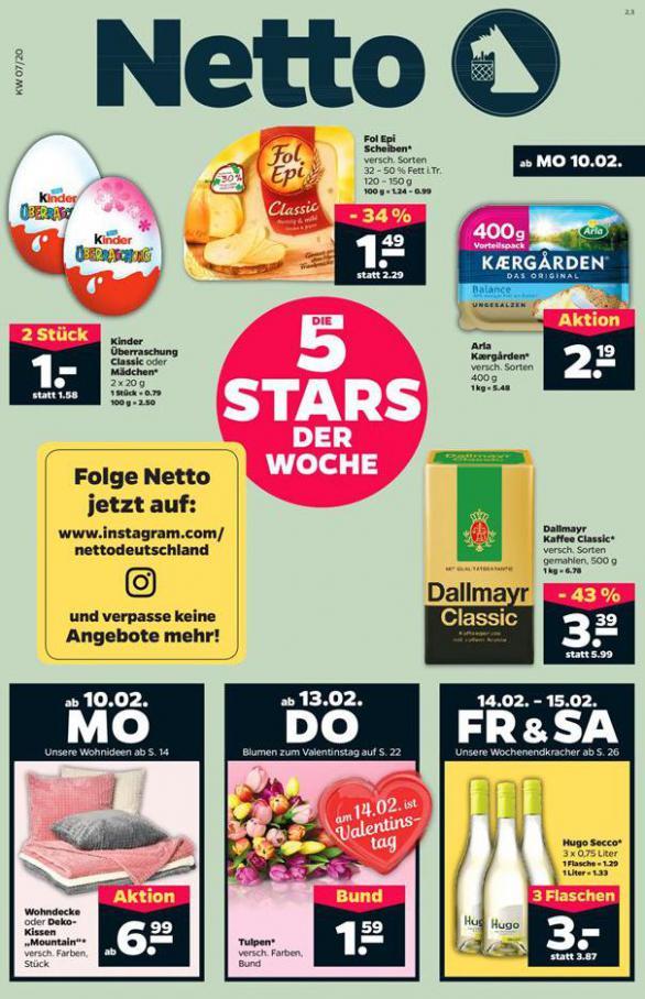5 Stars der woche . Netto (2020-02-15-2020-02-15)