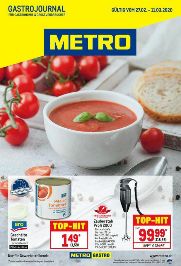 GastroJournal . Metro (2020-03-11-2020-03-11)