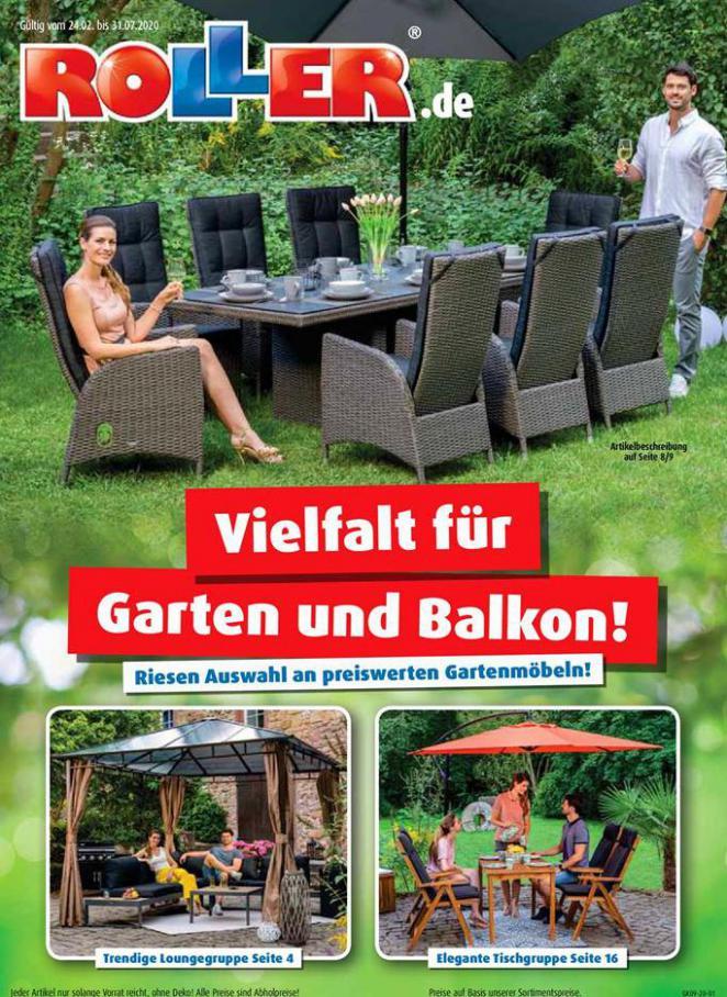 Vielfalt für Garten und Balkon! . ROLLER (2020-07-31-2020-07-31)