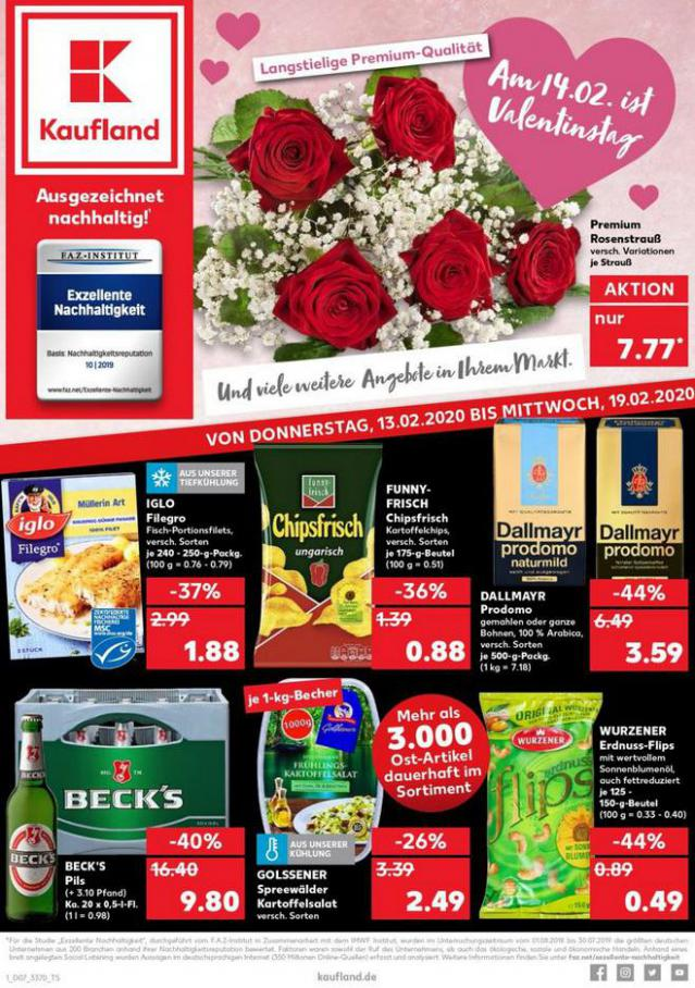 Angebote Kaufland . Kaufland (2020-02-19-2020-02-19)