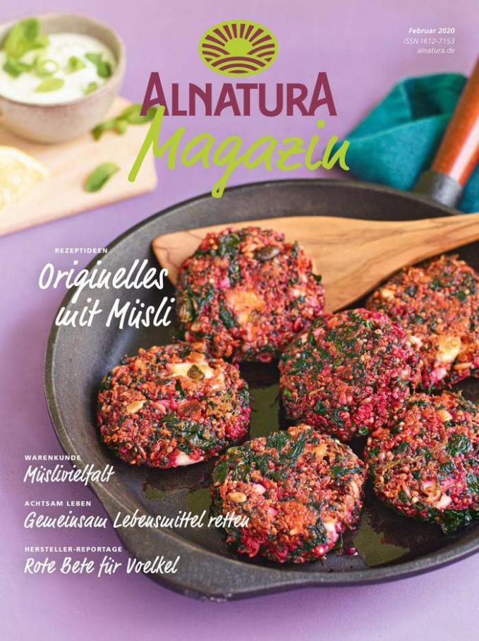 Alnatura Magazin Februar 2020 . Alnatura (2020-02-29-2020-02-29)