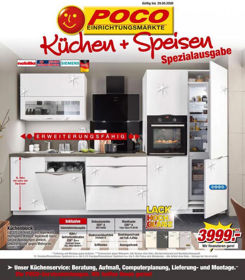 Küchen + Speisen Spezialusgabe . Poco (2020-05-29-2020-05-29)