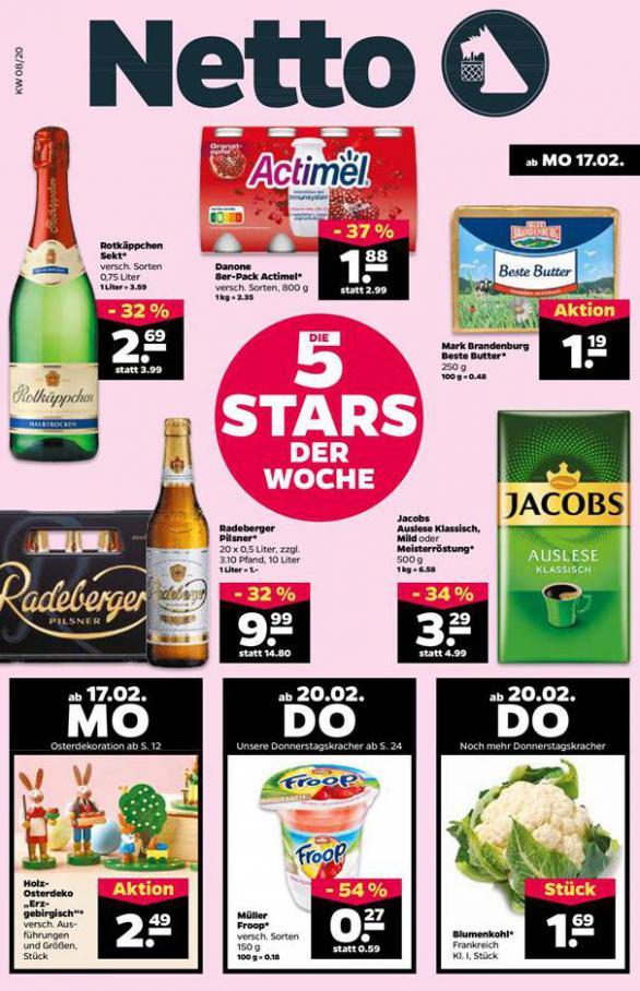 5 Stars der woche . Netto (2020-02-22-2020-02-22)