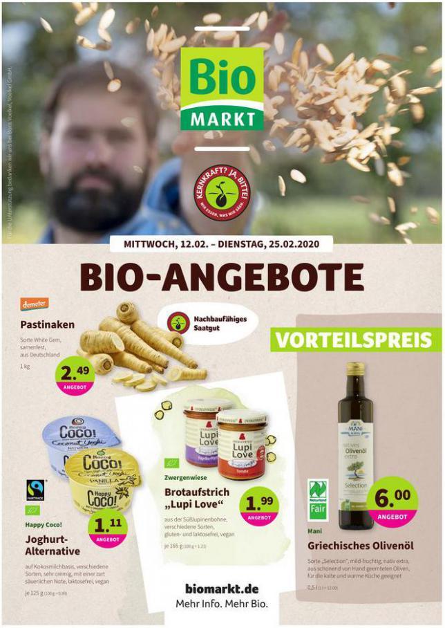 Bio-Angebote . BioMarkt (2020-02-25-2020-02-25)