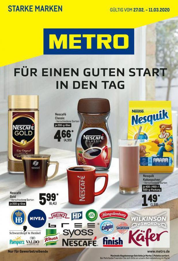 Starke Marken . Metro (2020-03-11-2020-03-11)