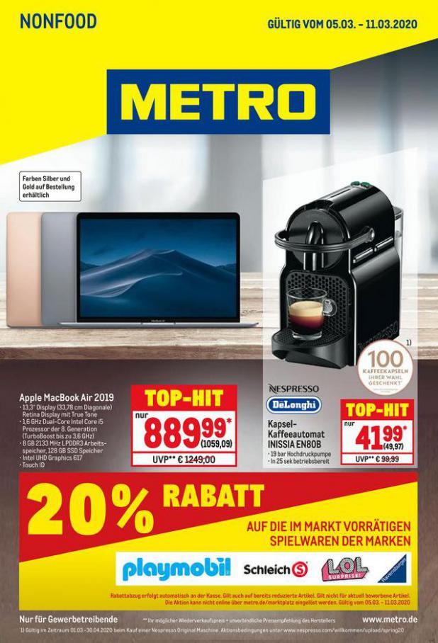 NonFood . Metro (2020-03-11-2020-03-11)