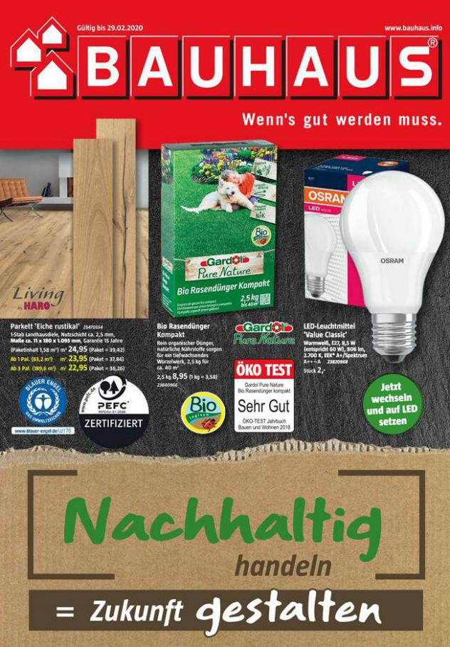 Angebote . Bauhaus (2020-02-29-2020-02-29)