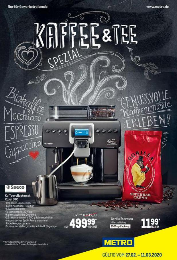 Kaffee Spezial . Metro (2020-03-11-2020-03-11)