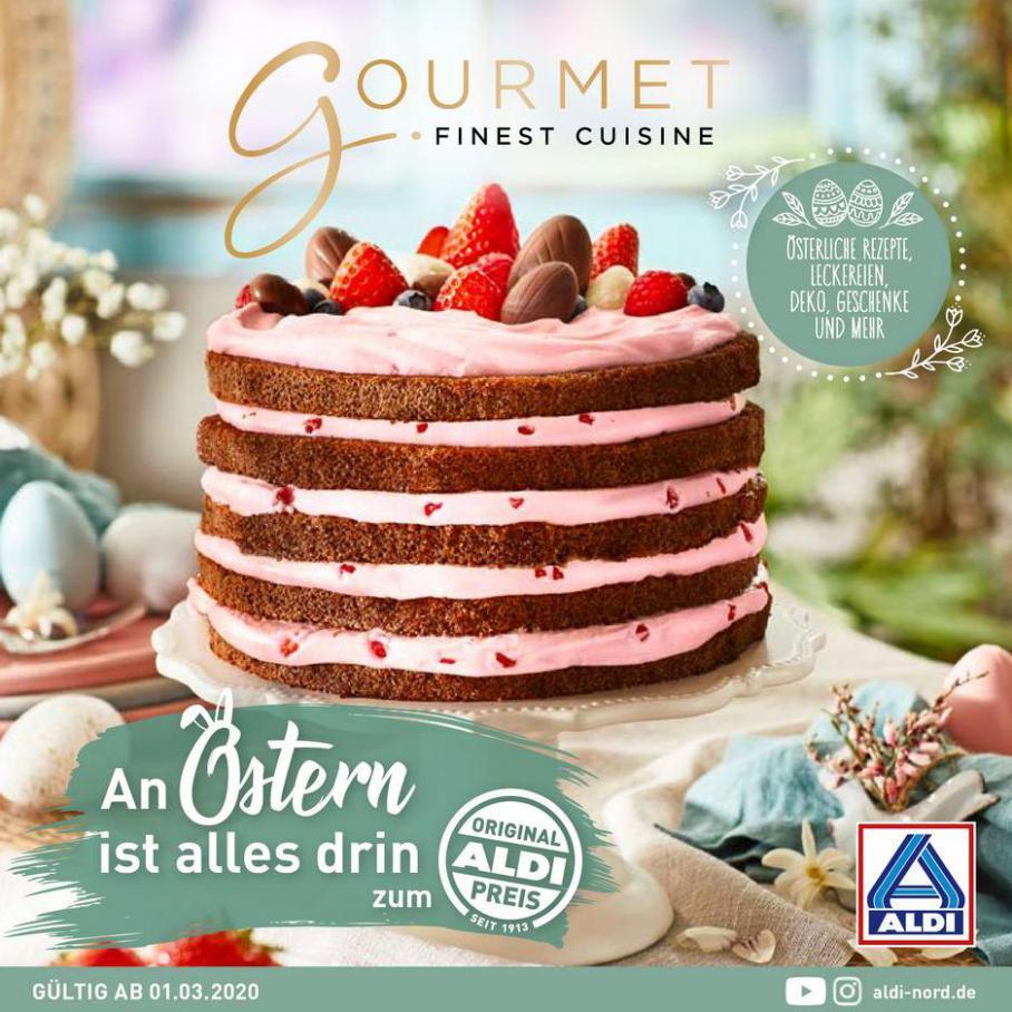 ALDI Gourmet . Aldi Nord (2020-03-31-2020-03-31)