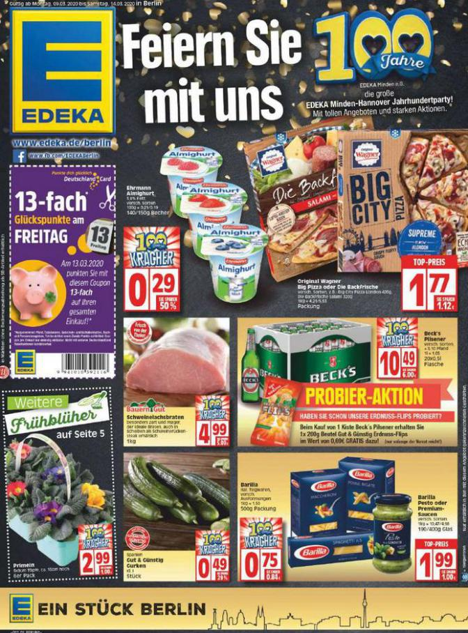 Edeka flugblatt . EDEKA (2020-03-14-2020-03-14)