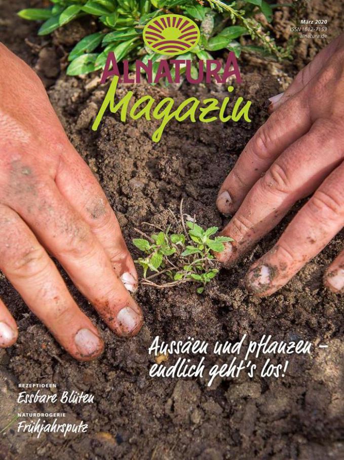 Magazin . Alnatura (2020-03-31-2020-03-31)