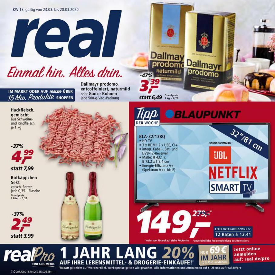 Prospekt Woche 13 . real (2020-03-28-2020-03-28)