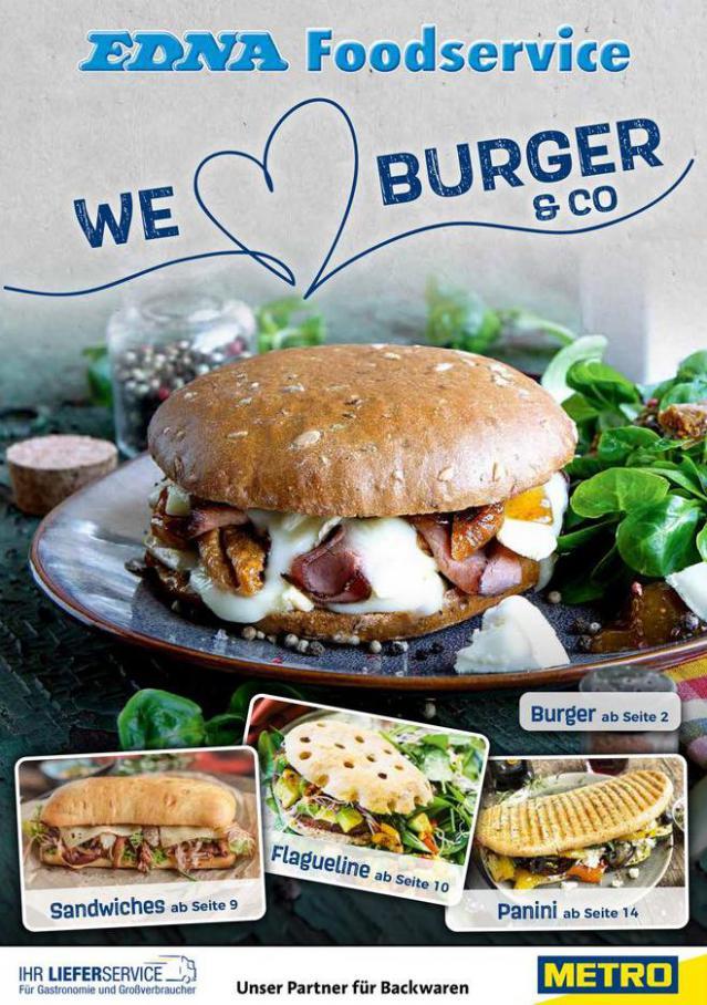 METRO Burger Konzept . Metro (2020-03-31-2020-03-31)
