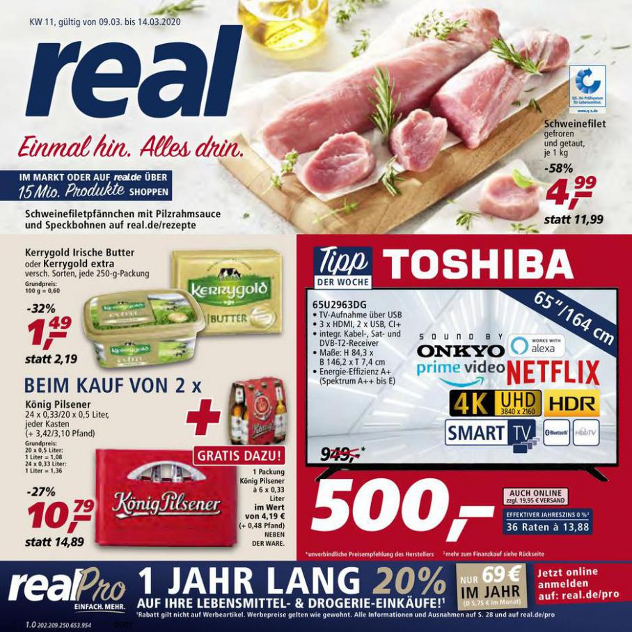 Prospekt Woche 11 . real (2020-03-14-2020-03-14)
