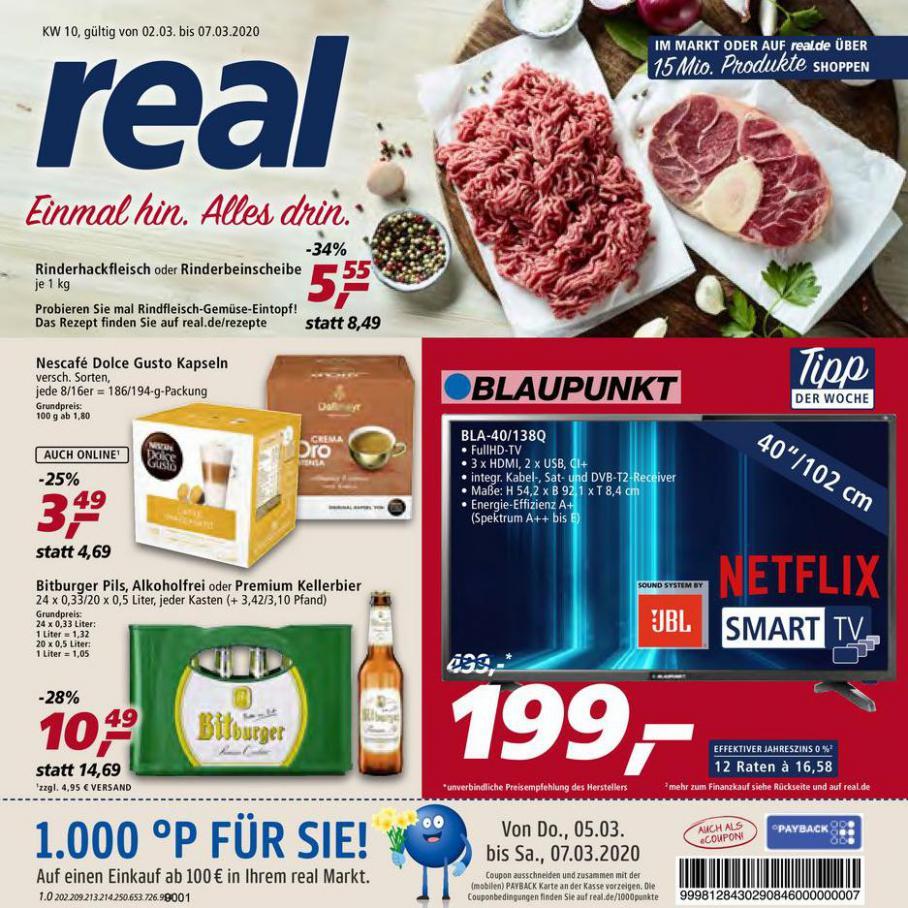 Prospekt Woche 10 . real (2020-03-07-2020-03-07)