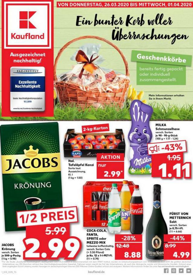 Angebote Kaufland . Kaufland (2020-04-01-2020-04-01)