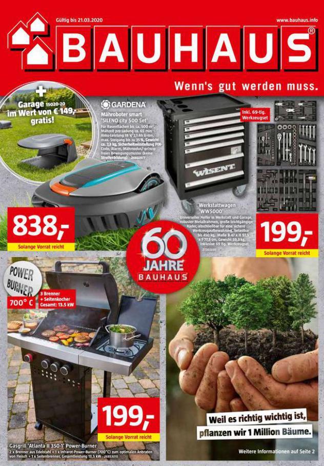 Angebote . Bauhaus (2020-03-21-2020-03-21)