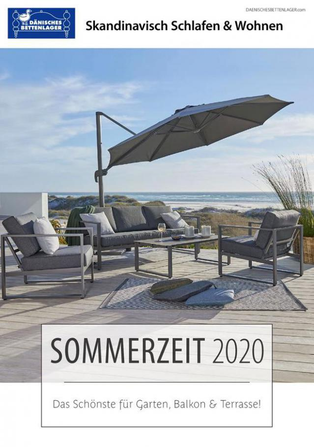 SOMMERZEIT 2020 . Dänisches Bettenlager (2020-06-30-2020-06-30)