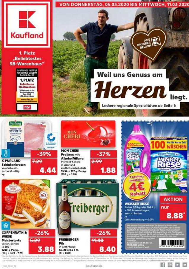 Angebote Kaufland . Kaufland (2020-03-11-2020-03-11)