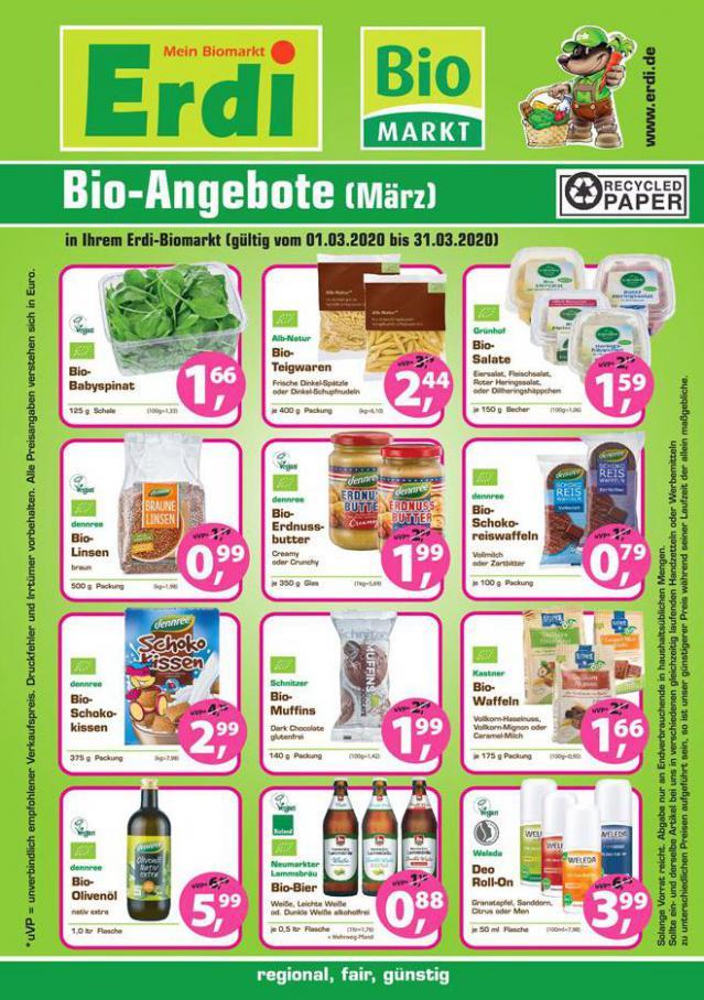 Bio-Angebote März . BioMarkt (2020-03-31-2020-03-31)