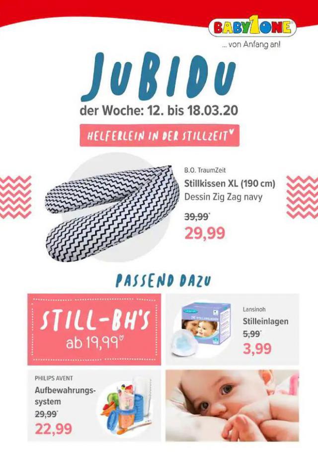 JubiDu! der Woche . BabyOne (2020-03-18-2020-03-18)